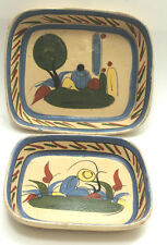 Antique/ Vintage Mexican Serving Dish From the 1920's/ 30' Set of 2 Ceramic