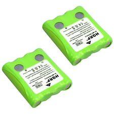 2-Pack HQRP Battery for Cobra Two Way Radio FA-BP FABP / RadioShack 23-1246
