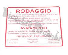 0654 ADESIVO RODAGGIO ROSSO 2% 1,2 KG VESPA 50 90 SS