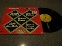 """Soulful Christmas"" VARIOUS ARTISTS MISTLETOE RECORDS LP Charles Brown, Til, ETC"