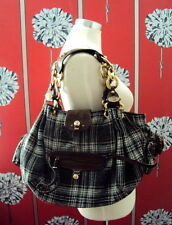 JUICY COUTURE BAG WITH GOLD CHAINS TARTAN WORN ONCE IN SHOOT