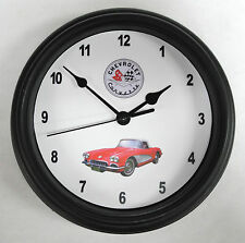 "1960 Chevrolet Corvette 9"" Automotive Garage Wall Clock New! Holiday Gift!"