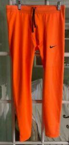 Men Nike Pro Elite 2020 Running Tights Orange Dri-Fit USA Gym 824624-XXX Size L