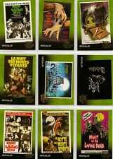 Night of the Living Dead Full 9 Card Poster Gallery Chase Set from Unstoppable