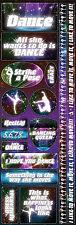 Reminisce DANCE II COMBO Cardstock Stickers scrapbooking DANCING QUEEN
