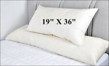 """EXTRA LARGE PILLOW 19"""" X 36"""" SUPER SPRING BOUNCE HOTEL QUAILTY"""