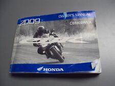 09 Honda CBR 600 RR Owners Manual #171