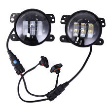 2x30W 4 inch Led Fog Light for Jeep Wrangler LJ JK TJ Bumper Tractor 97-17