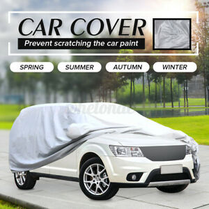 Full Car SUV Cover Outdoor Waterproof UV Snow Dust Rain Resistant Protection USA