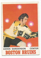 1970-71 O-Pee-Chee #136 Derek Sanderson Boston Bruins