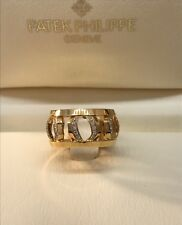 PATEK PHILLIPE 18 KARAT GOLD NAUTILUS RING 275.9750/1.R4 NIB! $9,800 RETAIL!