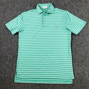 Peter Millar Summer Comfort Mens Casual Golf Polo Shirt Size Small PGA West Logo