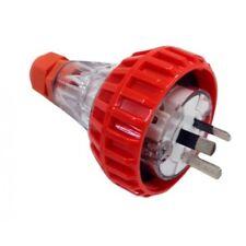 3PIN 10AMP - Straight Industrial Plug