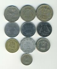 India - Republic - Lot of 10 different coins - Great Starter - Lot # IN-24