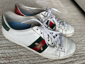 GUCCI Women's Ace Sneaker with Bee Size 38