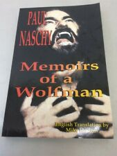 Paul Naschy : Memoirs of a Wolfman by Paul Naschy (2000, Paperback)