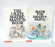 Lot 2 Math for Smarty Pants I hate Mathematics Books Burns Home School Tricks LN