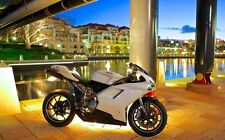 Ducati 848 1098 1198 Fender Eliminator Tail Tidy NTS 2H PL BLACK 2007 - 2015