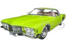 1971 BUICK RIVIERA GS GREEN 1/18 DIECAST MODEL ROAD SIGNATURE 92558