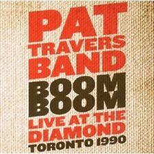 "PAT TRAVERS ""BOOM BOOM"" CD 14 TRACKS NEU"