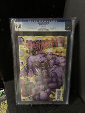 Superman #23.4 (3 D Cover) Parasite #1 CGC 9.8 Comic Book Slab