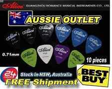 10pcs Acoustic Electric Guitar Picks Plectrums Various Glossy Colors 0.71mm