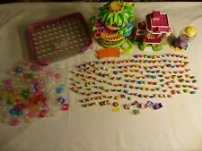Lot of 176 SQUINKIES with 174 Cases & Accessories Carrying Case Dispensers