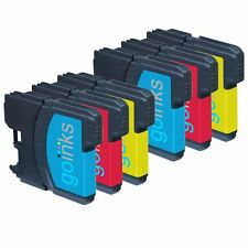 6 C/M/Y Ink Cartridges compatible with Brother DCP-195C MFC-290C MFC-490CW