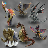 NEW CFB Monster Hunter Standard Model + Vol.8 1BOX All 6 Set Figure from Japan