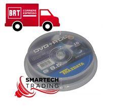 TRAXDATA DVD+R DUAL LAYER 8X 240min 8.5gb confezione 10 PEZZI