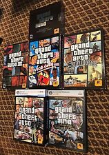 Grand Theft Auto PC Game Lot 1-3, Vice City, San Andreas, IV, Stories From LC