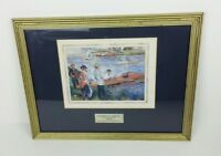 Oarsmen at Chatou Framed Picture Print Pierre Auguste Renoir Gallery of Art D.C.
