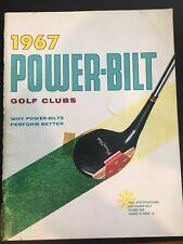 Vintage 1967 Power-Bilt Golf Catalog - Rare!