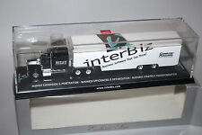 Herpa 1:87 LKW Modell Kenworth  Jumbo  Koffersattelzug  inter Biz  OVP /PVC