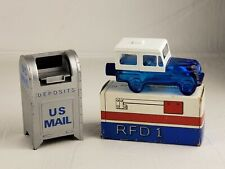 Usps Postal Service Collectibles Jeep after shave and Silver Mail box