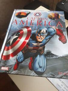 "La grande imagerie des super héros "" Captain America "" Marvel"