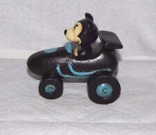 MICKEY MOUSE DRIVING INDY 500 SPRINT CAR RACER NASCAR Cast Iron Indianapolis