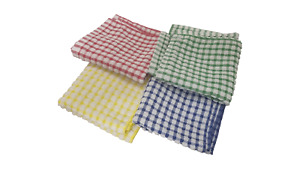 100% Cotton Heavy Duty Professional Restaurant Grade Dish Cloths Quick Drying