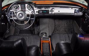 Mercedes-Benz 113 Roadster 1963-1971 Custom Car Floor Mats CocoMats 4 Piece Set