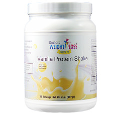 Doctors Best Premium - Vanilla High Protein Shake Low Sugar, Low Fat, High Fiber