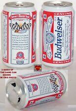 1987 NASCAR GREATEST TEAMS DALE EARNHARDT 11 WINS #3 CAR BUDWEISER BUD BEER CAN