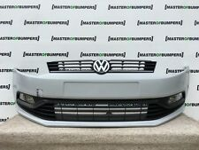 VW POLO 6C 2014-2016 FRONT BUMPER IN PRIMER COMPLETE GENUINE [V293]