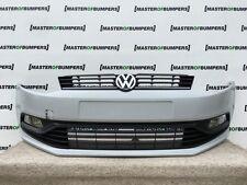 VW Polo 6 C 2014-2016 pare-chocs avant en apprêt Complet Véritable [V293]