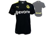 Puma Borussia Dortmund Away Jersey schwarz BVB 09 Trikot Bundesliga Gr. S - XXL