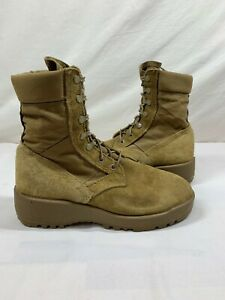 HOT WEATHER ARMY MILITARY COMBAT BOOTS COYOTE - TAN - MEN'S SIZE 6.5W