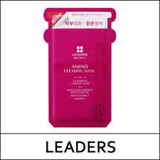 [Leaders] Mediu Amino Clearing Mask (25ml*10ea) 1 Pack / No Box / Korea / (LS4)