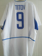 Russia 2002-2004 Away Titov 9 Football Shirt Size Extra Large Adult XL /40618/17