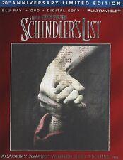 SCHINDLER'S LIST Blu-ray DVD Film World War History Liam Neeson Hitler Nazis Jew