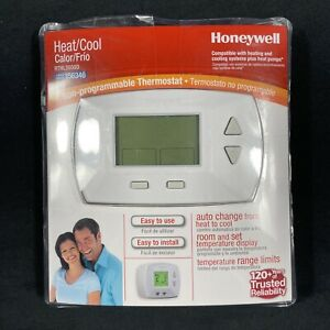 Honeywell Home Digital Non-Programmable Thermostat Heat Cool RTHL3550D1006