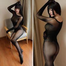 NEW Lingerie sexy combinaison collant bodystocking Velvet full bodysuit Seamless